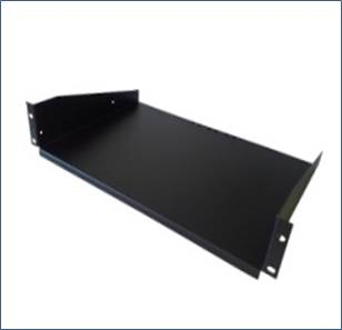"19"" shelf, front mounted"