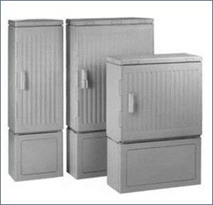 Outdoor cabinet, plast